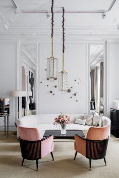 Les 25 meilleures id es de la cat gorie canap du milieu - Idees decors du milieu du siecle salon ...