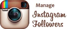 Software tools are available online to manage instagram the following on Business profiles and also for other activities.
