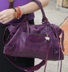 15ba752ca2b Away From Blue Balenciaga sapphire purple city bag 2008 Purple City, Balenciaga  Bag, Evernote