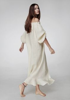 Where to buy chic summer sleepwear from @stylecaster | Baked Milk Loungewear Dress, $250; at Sleeper