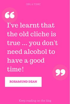Welcome toThe (Not) Drinking DiarySeries.Today I'm chatting to Rosamund Dean, author of Mindful Drinking: How to Break Up with Alcohol. Rosamund Dean is a journalist and author who came up through the ranks of women's magazines, having worked for Marie Claire, Elle, Grazia and Red. I'm excited to be chatting…