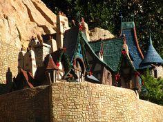 Cinderella's Village . Storybook Land Canal Boats .