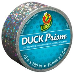 Duck Prism® Mini Rolls - Lots of Dots http://duckbrand.com/products/craft-decor/prism-glitter-tape/prism-mini-rolls/square-75-in-x-180-in?utm_campaign=craft-tapes-general&utm_medium=social&utm_source=pinterest.com&utm_content=prism-tape