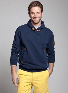 Summer Sweater w/ Yellow Shorts Sweater Hoodie, Men Sweater, Jumper, Casual Outfits, Men Casual, Preppy Men, Yellow Shorts, Well Dressed Men, Colourful Outfits