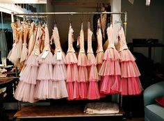 New York City Ballet's Nutcracker costumes. I used to love the moment when you could finally replace your leotard with the actual costume...this was the moment when you became the role.