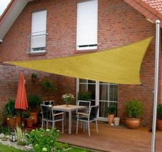 outdoor patio shade tarp - Google Search  San Diego Shade Sail 16 foot Triangle - Sandy Beach   Buy New  $59.95