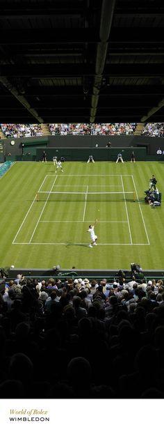 Wimbledon No. 1 Court. #Rolex #RolexOfficial
