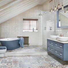 78 Light Blue Bathroom Color Decorating Ideas Bluе: a сlаѕѕіс bаthrооm соlоr, reminiscent of thе ѕkу and wаtеr. bluе аlѕо іnѕріrеѕ confidence and . Bathroom Spa, Bathroom Colors, Bathroom Ideas, Bathroom Vanities, Blue Bathroom Decor, Bathroom Makeovers, Bathroom Remodeling, Bathroom Lighting, Bad Inspiration