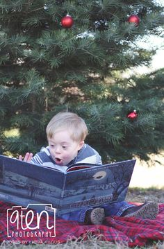 Kids With Down Syndrome Spread Holiday Cheer in Festive Portrait Series