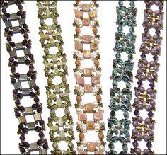 Any Bead Bracelet by Deb Roberti, pattern at AroundTheBeadingTable.com