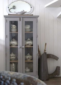 another grey cupboard