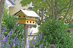 Attracting Birds with Backyard Habitat, food, water and housing > from blog yard and garden secrets. Click photo for how to   .