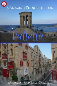 Valletta in Malta is the European Capital of Culture 2018. It's an elegant city of palaces with one of the most beautiful harbours in the Mediterranean. Find out the best things to do in this tiny city. Explore the backstreets with their baroque palaces, see some of the world's finest art in the cathedral and hear the cannons firing. This is a stunning city built for the knights of the 16th century and full of charm, beauty and culture. #valletta #bestofmalta #visitmalta