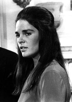 """Ali"" MacGraw (born April 1, 1939), American actress."