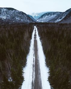 The long road ahead (Gaspésie, Québec) by Drone Hikers (@dronehikers) on Instagram