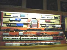 Chasewater Railway Museum Exhibits - Wooden Models