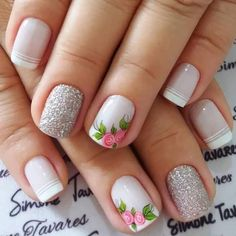 50 Trendy Fall Nail Art Design For 2019 These trendy Nail Designs ideas would gain you amazing compliments. Check out our gallery for more ideas these are trendy this year. Cute Acrylic Nails, Cute Nail Art, Beautiful Nail Art, Cute Nails, Fall Nail Art Designs, Short Nail Designs, Spring Nail Art, Spring Nails, Autumn Nails