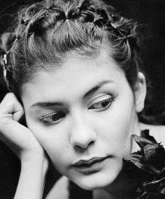 Audrey Tautou photographed by Kate Barry. Audrey Tautou is a French film actress and model, known outside of France mainly for her roles in Amélie The Da Vinci Code & Coco Before Chanel Audrey Tautou, Kate Barry, Nathalie Portman, Star Francaise, Celebrity Portraits, French Actress, Black And White Portraits, Famous Faces, Portrait Photographers