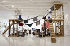 """Abraham Cruzvillegas, """"Autoconstrucción Suites"""", Haus der Kunst, Munich. Exhibition view"""