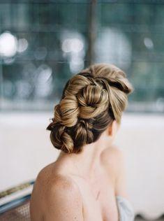 Indoor Bridal Session Inspiration | Wedding Sparrow | Kyle John Photography