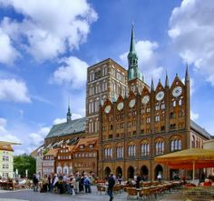 Stralsund, Germany   Historic Centres of Stralsund and Wismar. . Germany. The most ...