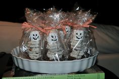 skeleton treats- great for your rad tech week party!