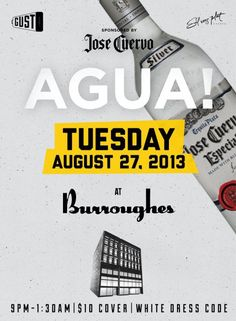 AGUA Tuesdays ALL WHITE PARTY | TorontoDance.com