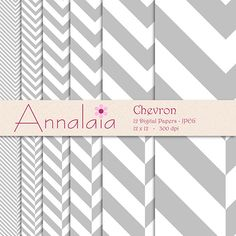 INSTANT DOWNLOAD Digital Paper Pack Silver Gray and by annalaia2, $3.00