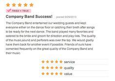 Company Band Success!