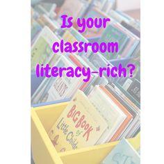 A Classroom Literacy Rich Environment – Teaching the Teacher Noel Jones, Phonics Games, Physical Environment, A Classroom, Literacy Activities, Physics, Students, Teacher, Events