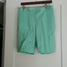 NWT Brooks Brothers seafoam women's bermuda shorts Never worn, with tags! Brooks Brothers Shorts Bermudas