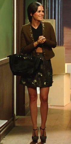 Zoe Hart in Zara top & skirt #HartofDixie