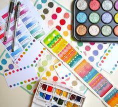 Sketchbook Wandering : Buying Colors