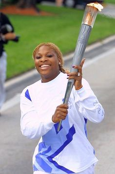 Serena capped off a busy 2001 by carrying the Olympic torch in the leadup to the 2002 Games in Salt Lake City.
