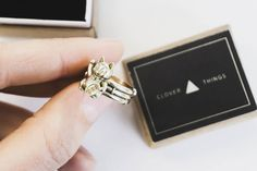 Maneki Neko ring gold ring brass ring lucky ring happyness