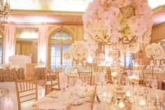 French Vintage splendor wedding at the Westgate Hotel | San Diego Wedding Blog -- Little over the top and whatnot, but it has the right feel I want :) Quinceanera Centerpieces, Wedding Centerpieces, Wedding Table, Our Wedding, Dream Wedding, Wedding Decorations, Wedding Blog, Quince Decorations, Quinceanera Ideas