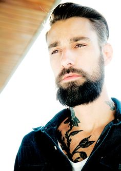 What's better than a man with a beard? A man with a beard AND  tattoos.