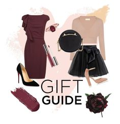 """Gift Guide for Mom and Sister💖"" by tania-octaviany ❤ liked on Polyvore featuring Bobbi Brown Cosmetics, MaxMara, Christian Louboutin, Little Wardrobe London, Gianvito Rossi, Betsey Johnson, Anastasia Beverly Hills and Abigail Ahern"