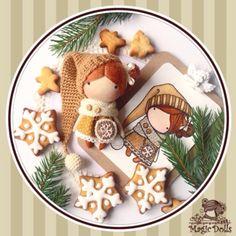 Ma Petite Poupee - Clover •Size 3,54 inches/ Размер 9 см Ma Petite Poupee - Deer •Size 3,54 inches/ Размер 9 см Ma Petite Poupee - Gingerb...