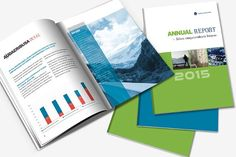 Indesign Annual Report Template By Template Shop On Creative