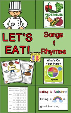 Proteins, Grains, Fruits, Veggies, and Dairy…introduce the basics of nutrition to your young learners! TpT$