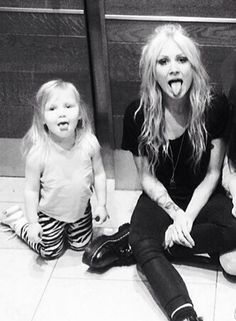 Lux and Lou. How big little Lux has got :(