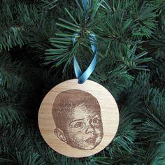 10 Adorable, Modern Baby 1st Christmas Ornaments