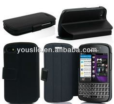 HOT SELLING Ultra thin stand wallet leather Mobile Phone Case  for blackberry Q 10  1 Made of PU  2 Low MOQ&Fast delivry