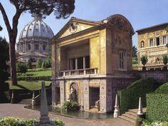 Verde Pubblico e Parchi Divertimento: Giardini Vaticani - Paghera Giardini