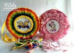 Latinas Arts and Crafts: Crop On Line: Piñata tambor con hilos