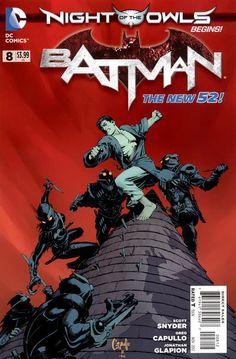 Batman #8 - 2nd Print
