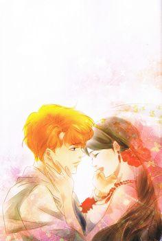 fanartsailormoonbythaiartistfan:  Happy Wedding (Jadeite & Rei)Fanart by MOMOKOPhotoart from ELOPE TO THE EARTH