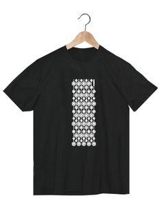Camiseta en algodón orgánico en color negro para chico VCNH   www.strambotica.es