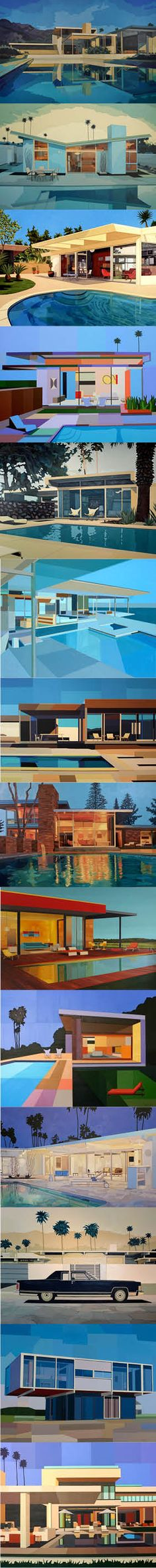 Andy Burgess - Modernist Houses / mid-century modern